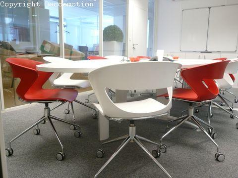Bureau Design Noir Et Rouge  Dcoratrice DIntrieur  Conseil En