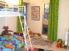 Chambre enfants verte