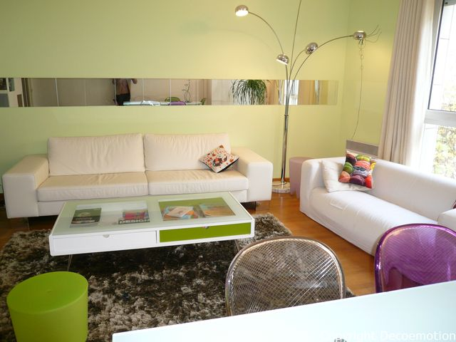 un nouveau salon parisien compl tement m tamorphos d coratrice d 39 int rieur conseil en. Black Bedroom Furniture Sets. Home Design Ideas