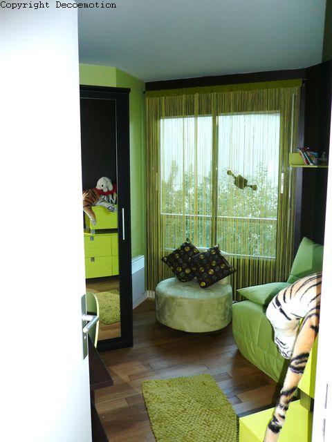 Chambre Vert Anis Et Chocolat : Appartement teintes mauves décoratrice d intérieur