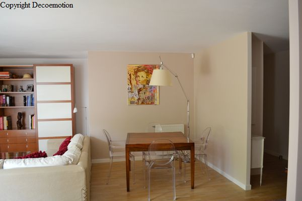 Appartement contemporain p tillant d coratrice d - Decoration appartement contemporain ...