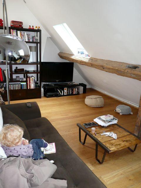 appartement cosy sous les toits parisiens d coratrice d 39 int rieur conseil en d coration. Black Bedroom Furniture Sets. Home Design Ideas