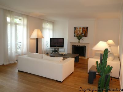 Appartement contemporain zen d coratrice d 39 int rieur for Decoration salon appartement