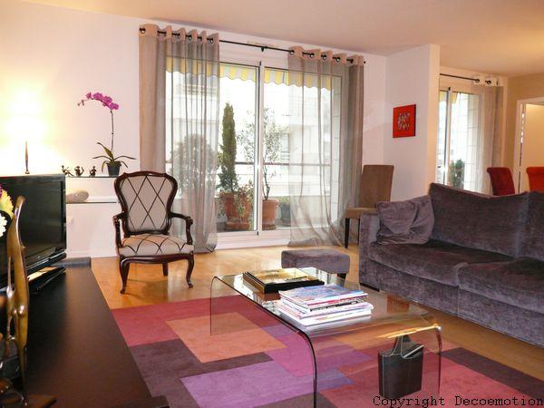 un s jour chic et cosy d coratrice d 39 int rieur conseil en d coration architecte d. Black Bedroom Furniture Sets. Home Design Ideas