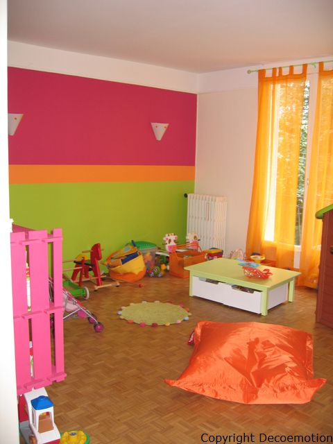 Brooklyn salle de photo deco maison id es decoration interieure sur for Chambre fushia orange