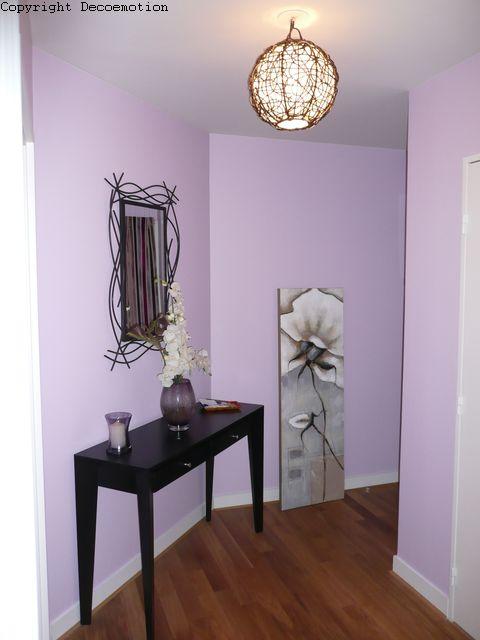 appartement teintes mauves blog deco motion florence bontemps d coratrice coach d co. Black Bedroom Furniture Sets. Home Design Ideas