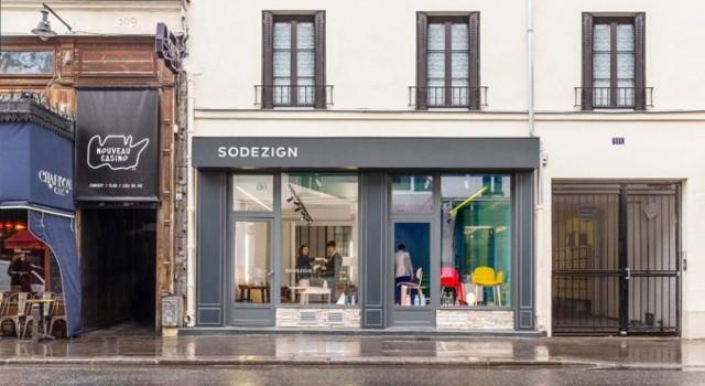 SODEZIGN – site de vente en ligne de mobilier contemporain – a ouvert sa 1ère boutique à Paris