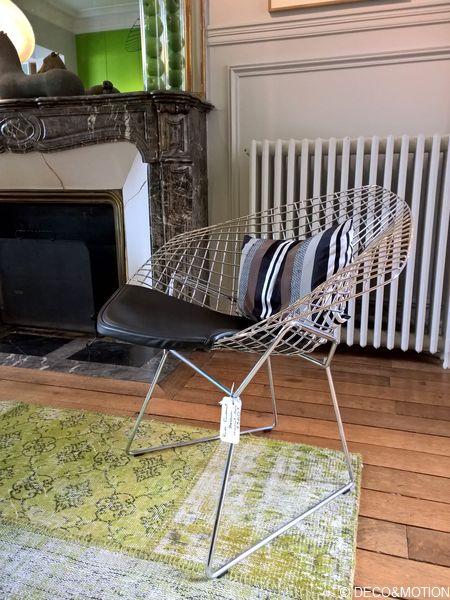 knoll fauteuil Bertoia