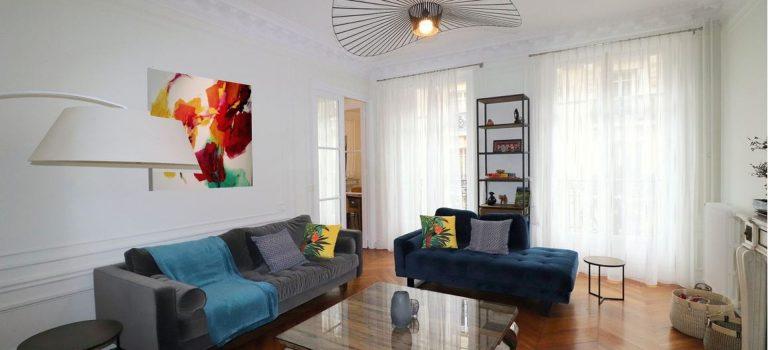 Appartement haussmannien entièrement meublé et décoré pour accueillir ses nouveaux  propriétaires